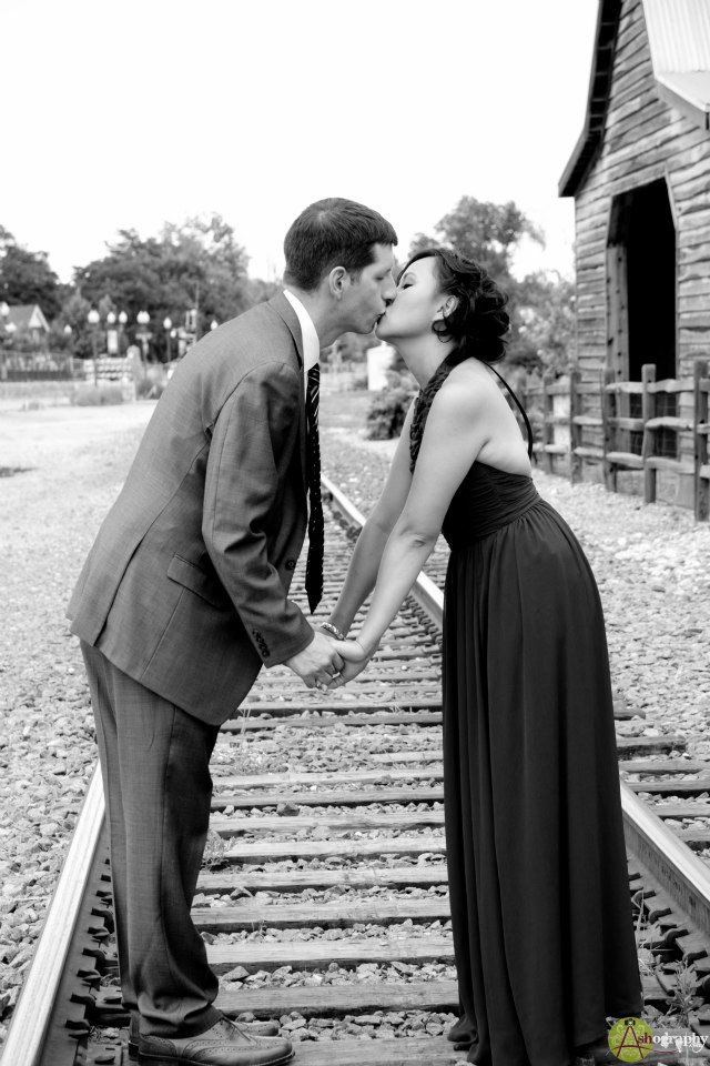 Train Track Wedding